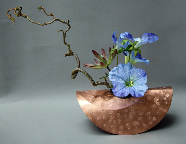Copper_Vase_with_Flower_by_www.finelyfounddesigns.com