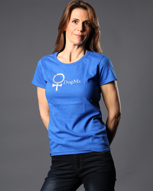 DogMa T-Shirt in Royal Blue