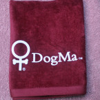 DogMa Towel in Burgundy