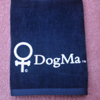 Navy Blue DogMa Towel