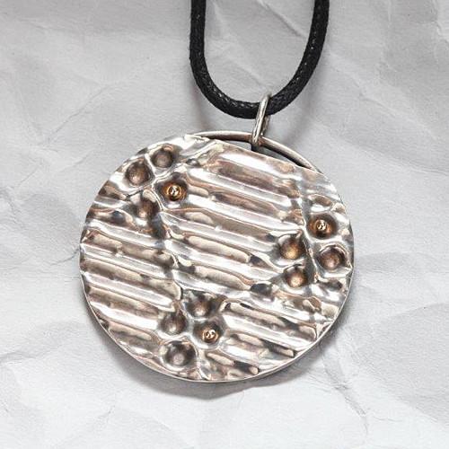 Handcrafted Sterling Silver Circular Wonder Pendant