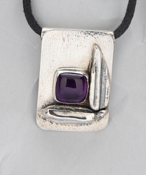 Handcrafted Sterling Silver Sheltered Pendant