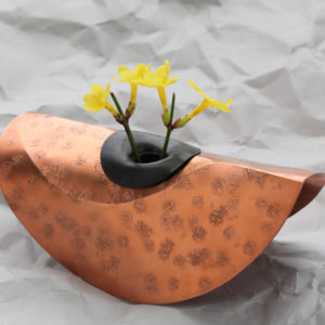 Handcrafted Copper Vase