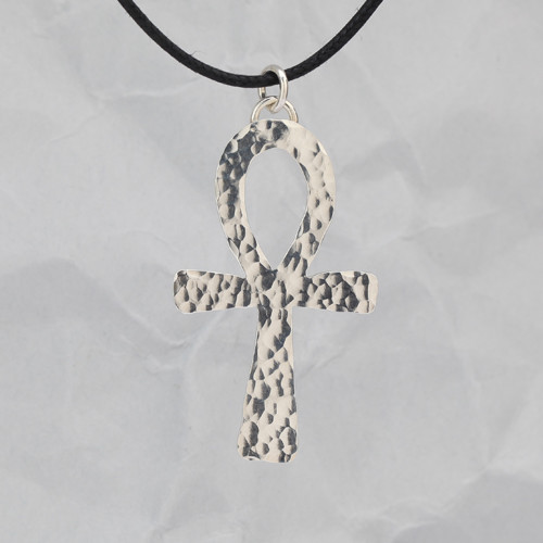 Handcrafted Sterling Silver Ankh Pendant