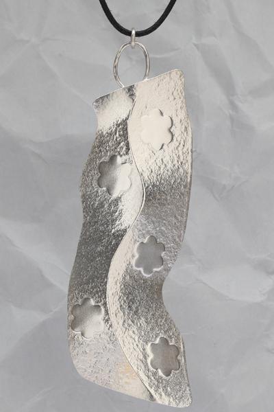 Handcrafted Fine Silver Dreamy Pendant