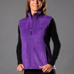 DogMa Purple Sleeveless Fleece Vest