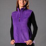 DogMa Purple Sleeveless Fleece Vest